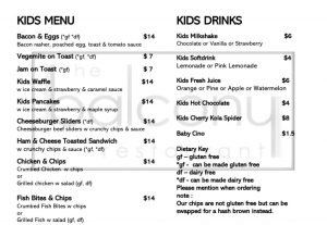 kid friendly dining in townsville