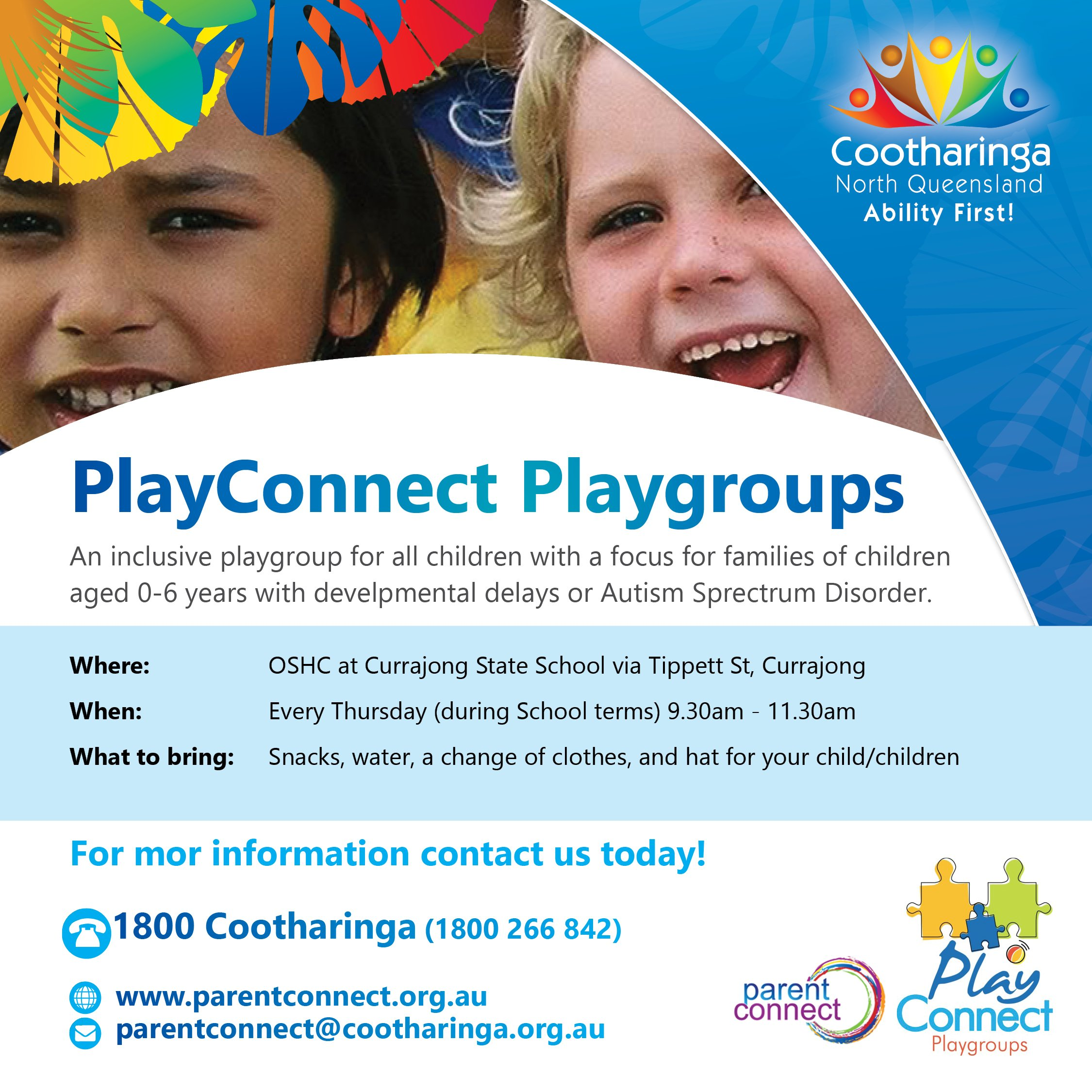 playgroups in townsville
