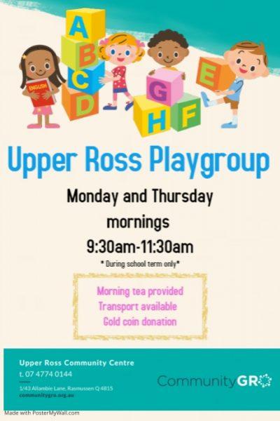 Community Gro Playgroup Upper Ross Community Centre