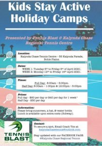 kids tennis townsville